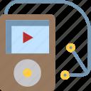 audio, gadget, ipod, music, sound icon