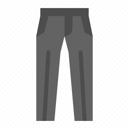 clothes, clothing, fashion, male, trouser icon