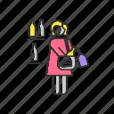 kleptomania, kleptomania icon, stealing, thief