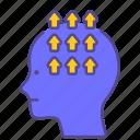anxiety, compulsive, disorder, illness, mental health, obsessive, ocd icon