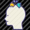 autism, disorder, dyslexia, illness, learning, mental health, symptom icon