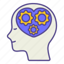 empathy, happy, healthcare, management, mental health, mind, treatment icon