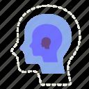 alzheimer, disease, disorder, forgot, illness, loss, mental health icon