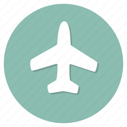 aircraft, airplane, plane, travel icon