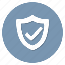 protected, secure icon