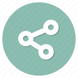link, network, share icon