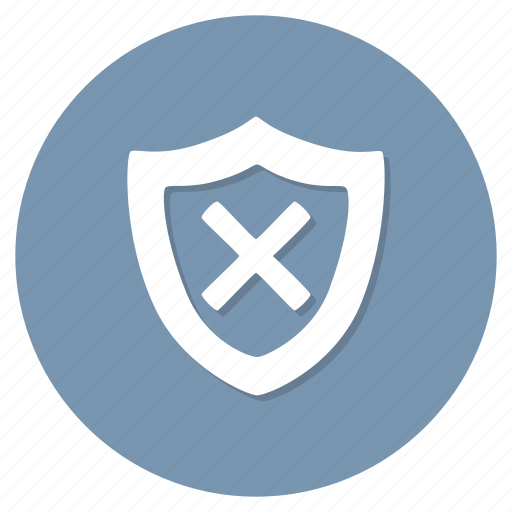 unprotected, unsafe icon