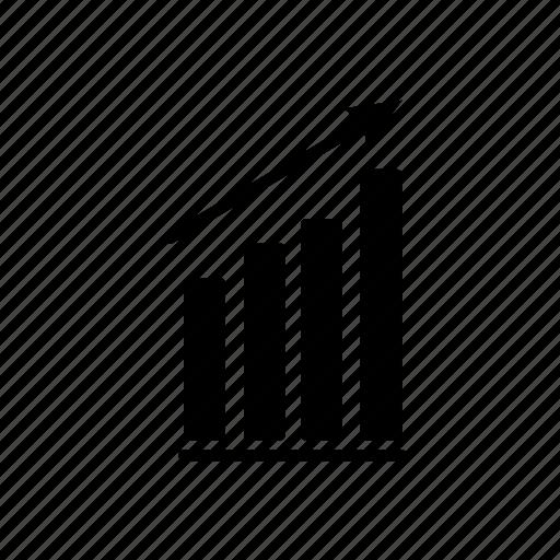 chart, graph, increase icon