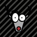 christmas, deer, reindeer, xmas