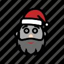 christmas, claus, santa, xmas