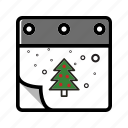 calendar, christmas, winter, xmas