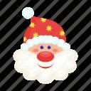 avatar, christmas, happy, head, new, santa, year