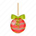 ball, christmas, decoration, happy, new, tree, year icon