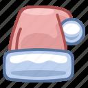 cap, christmas, hat, holiday, new year, santa, xmas icon