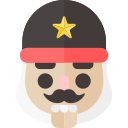 christmas, holiday, nutcracker, soldier, xmas icon