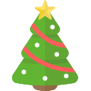 christmas, holiday, tree, xmas icon