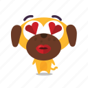 dog, love, pet icon