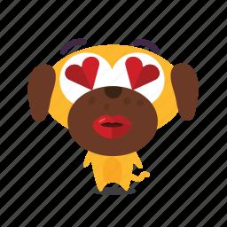 dog, love, pet icon
