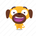 dog, pet, surprised icon