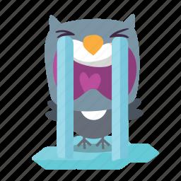 bird, sad, twitter icon