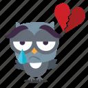 bird, heartbroken, twiiter icon