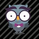 bird, geek, twitter icon