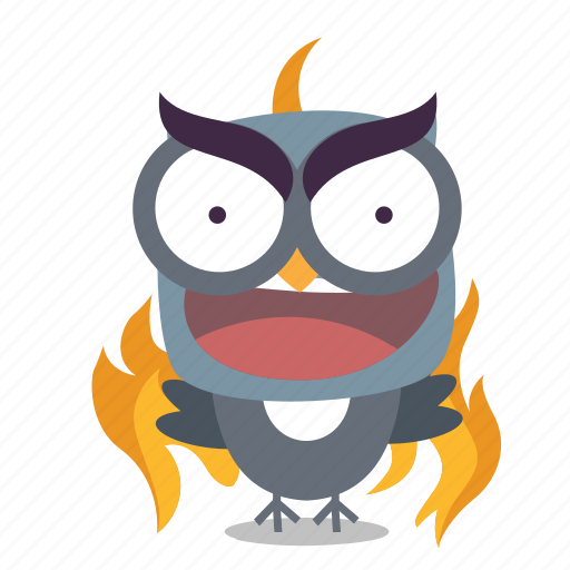 angry, bird, twitter icon