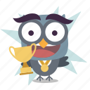 cup, emoji, winner icon