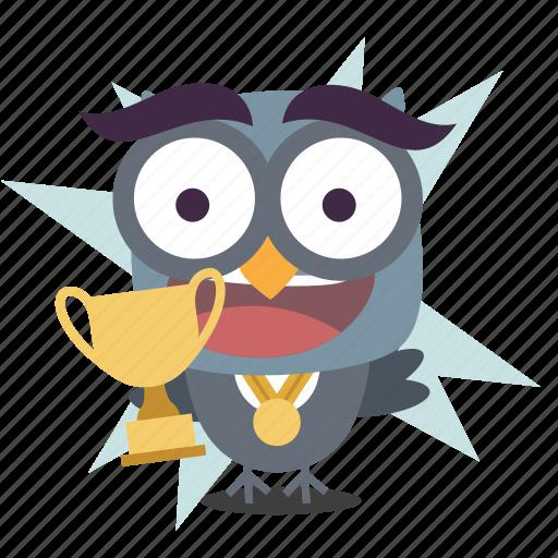cup, emoji, winner icon
