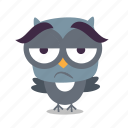 bird, bored, tired, twitter icon