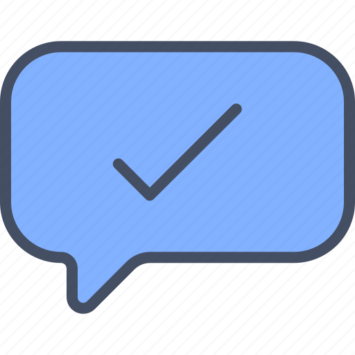 checked, message, selected, sent icon