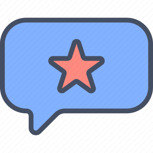 favorite, liked, message, starred icon
