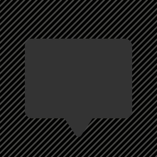 bubble, chat, comment, message, messenger, speech icon