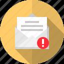message, alert, mail, communication icon