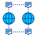 global, connection, network, communication