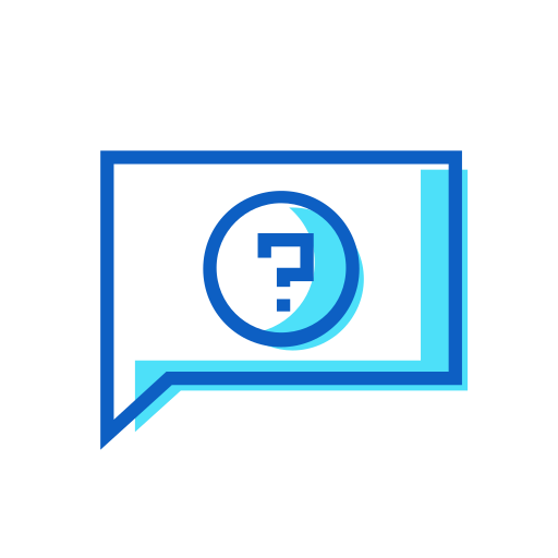 chat, question icon