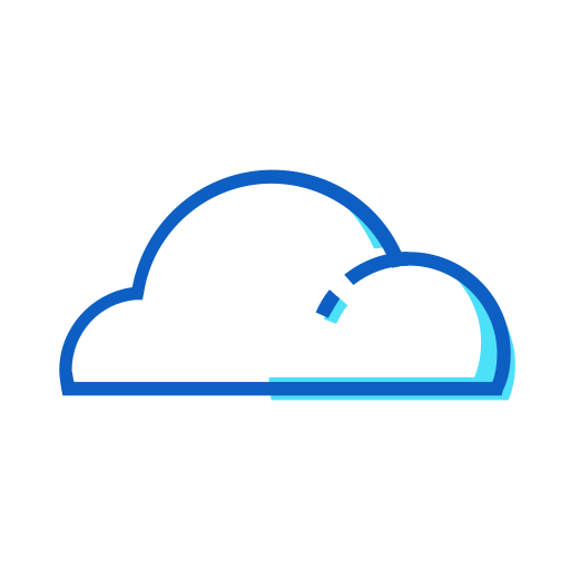 cloud, cloud computing, cloud system, cloudy, sky, weather icon