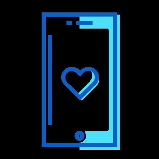iphone, love icon