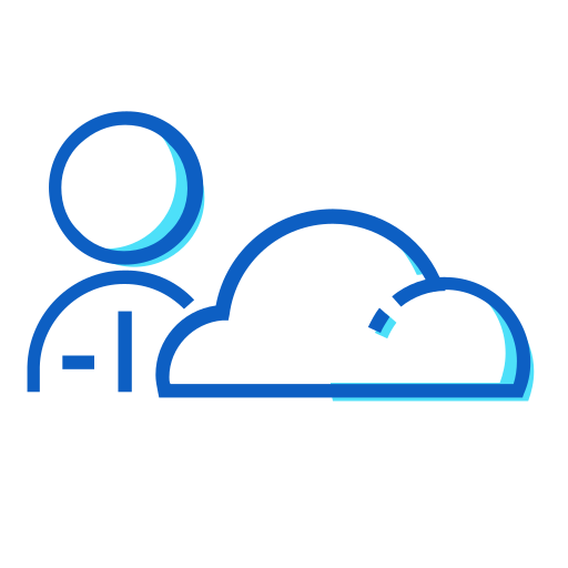 cloud, manager icon