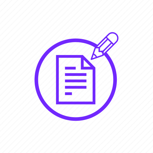 Doc, document, files, paper, pencil, write icon - Download on Iconfinder