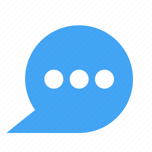 bubble, chat, chatting, dots, message icon