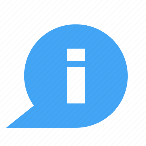 bubble, chat, chatting, information, message icon