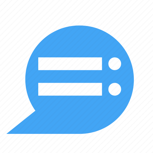 bubble, chat, chatting, message, text icon