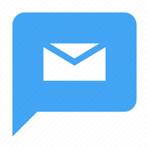 bubble, chat, chatting, letter, mail, message icon