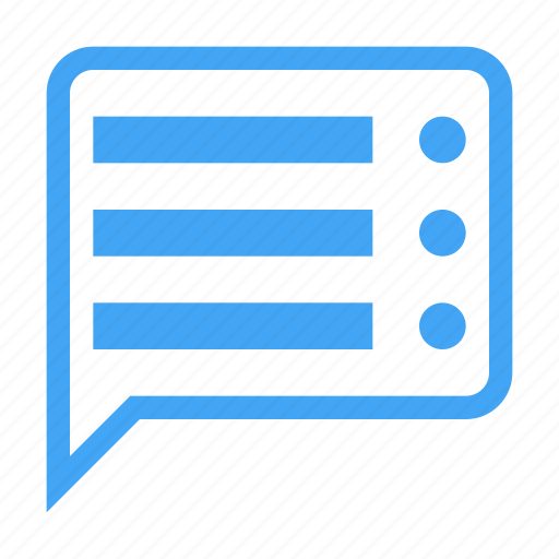 bubble, chat, chatting, conversation, message, text icon