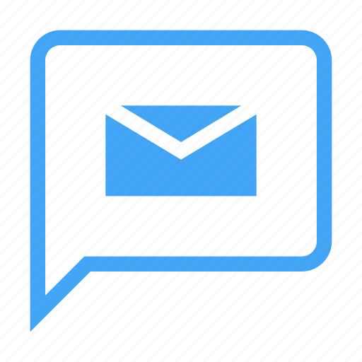 bubble, chat, chatting, letter, message icon