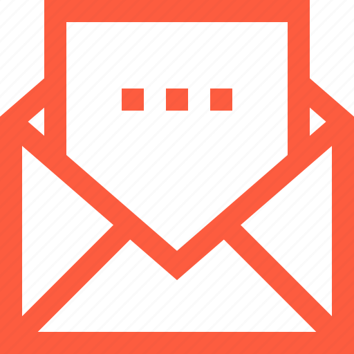 envelope, letter, mail, message, new, open, read icon