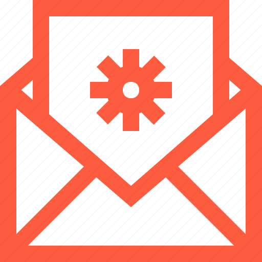 control, letter, mail, message, preferences, settings, system icon