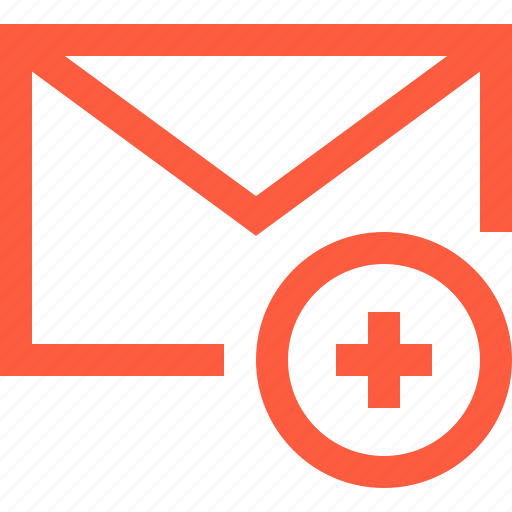 add, create, envelope, letter, mail, message, new icon