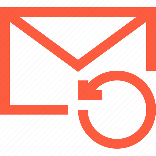 envelope, letter, message, refresh, reload, sync icon